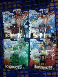 Transformers News: Bot Shots Series 2 Wave 2 Found at Retail