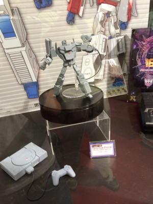 Playstation Optimus Prime on Display at Wonder Festival