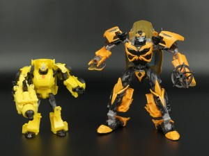 Transformers News: New Galleries: Age of Extinction Evolution 2-Pack Bumblebee