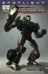 Transformers News: Transformers Spotlight: Hoist - Creator Commentary