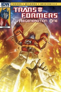 Transformers News: Transformers: Regeneration One #85 Script (W)rap
