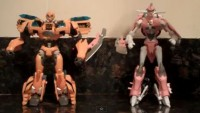 Transformers News: NYCC Transformers Prime Exclusive Deluxe Bumblebee & Arcee Set Video Review