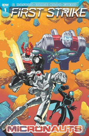 Micronauts: First Strike #1 One-shot iTunes Preview
