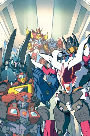Transformers News: IDW Transformers: Lost Light #1 Andrew Griffith / Josh Perez Variant Cover Art