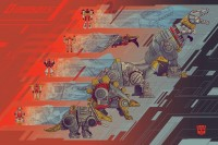 Transformers News: Two New Acidfree Gallery Prints Available at Wizard World Philadelphia: Starscream and Dinobots