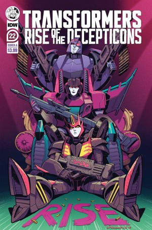 Preview for IDW Transformers #22
