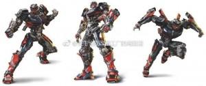 Transformers News: Transformers: The Last Knight Hot Rod New CGI Renders