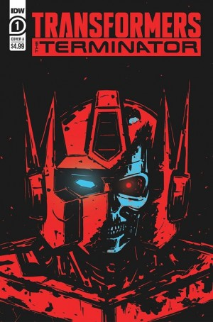 Transformers vs. The Terminator Crossover Comic Launching in 2020