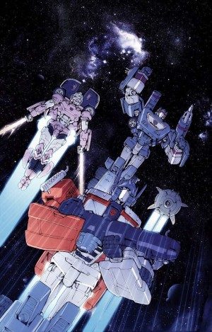 IDW The Transformers #55 Andrew Griffith / Josh Burcham Cover Art