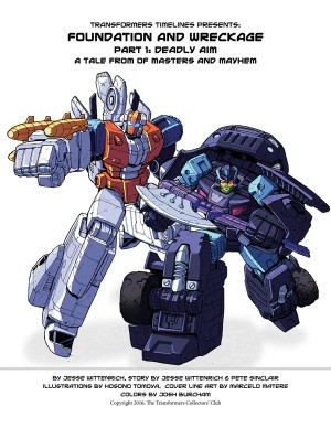 Transformers News: TFSS 5.0 'Foundation and Wreckage: Deadly Aim' Prose Story Now Online