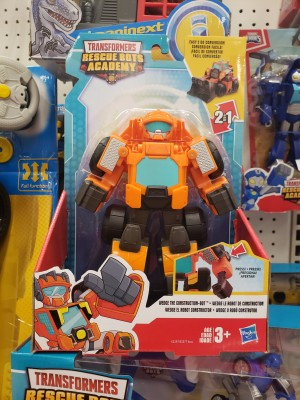 Transformers Rescue Bots Academy Playschool Heroes 11 Inch Wedge Spotted at US Retail