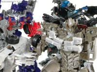 Transformers News: New Dark of the Moon Galleries - Voyager Optimus Prime, Ironhide and Megatron