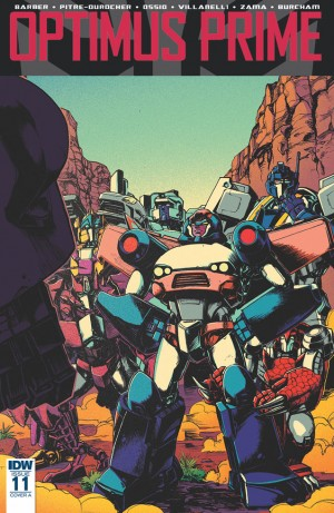 Optimus Prime #11 iTunes 3-page Preview
