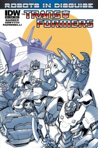 Transformers News: IDW October 2013 Transformers Solicitations - Dark Cybertron, Beast Hunters, Art of Prime