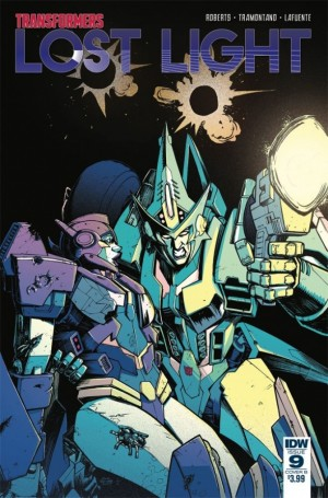 Full Preview of IDW Transformers: Lost Light #9