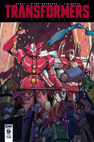 Variant Covers for IDW Transformers: Till All Are One #9 by Jin Kim, Priscilla Tramontano