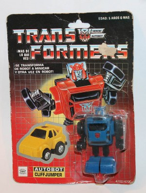 Transformers News: Rare Blue IGA Cliffjumper on Ebay