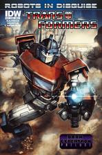 Sneak Peek - Transformers: Robots in Disguise Ongoing #19