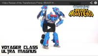 Transformers News: Optibotimus Reviews: Transformers Prime Beast Hunters ULTRA MAGNUS
