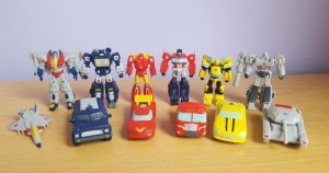 Another Look at Transformers Busy Book Figures