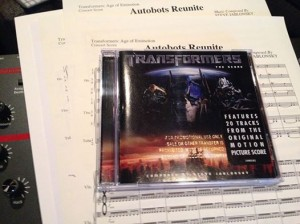 Transformers News: Steve Jablonsky's Transformers: Age of Extinction Maybe Coming to CD, Win a Signed Score Sheet