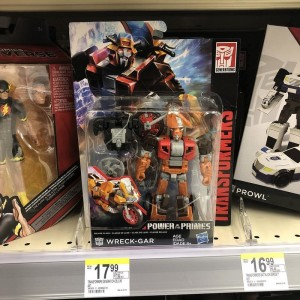 Transformers Power of the Primes Walgreens Exclusive Wreck-Gar Sighted at US Retail