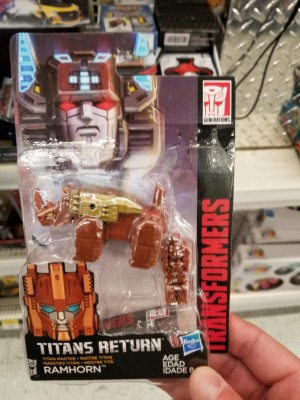 Transformers Titans Return Ramhorn Found at Walmart in Canada