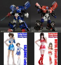 Transformers News: Special Early Bird Pre-order Pricing and Bundle now available for the Takara Alternity GTR Prime & Savior!
