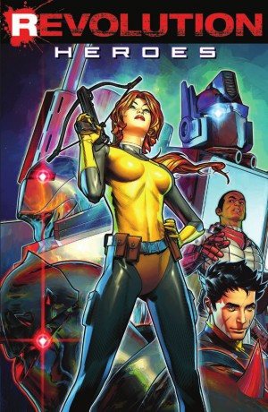 Full Preview of IDW Revolution: Heroes TPB