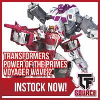 Transformers News: TFSource News! PotP Voyager Wave 2, MP-17+ Anime, MT Thunder Manus, MRDX-01 Bike Mode & More!