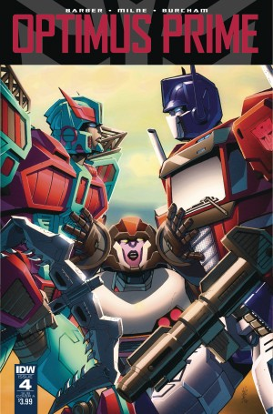 IDW Optimus Prime #4 Variant Cover