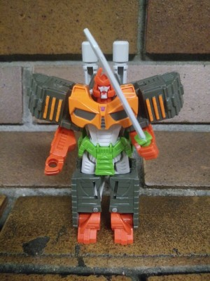 Pictorial Review of Cyberverse Bludgeon One Step Figure