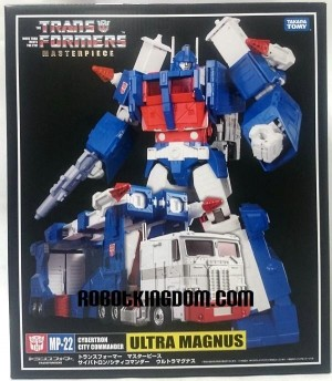 Transformers News: Masterpiece MP-22 Ultra Magnus Box And Coin Images