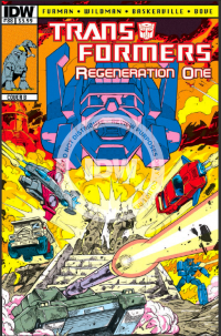 Transformers News: Back on Board - Review of TRANSFORMERS REGENERATION #88