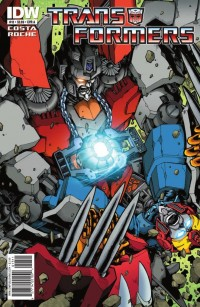 Transformers News: 5 page preview of Transformers Ongoing #13!