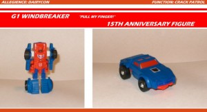 Transformers News: Dairycon 2015 Exclusive Windbreaker Bio / Pics Revealed