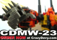 CrazyDevy CDMW-23 King's Power Parts