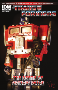"Transformers News: IDW's ""The Death of Optimus Prime"" Seven Page Preview"
