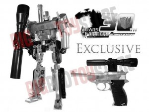 Transformers News: Transformers Masterpiece 30th Anniversary Exclusive MP-05 Megatron