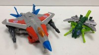 Transformers News: Video Review: Transformers Generations Legends Class Starscream with Waspinator