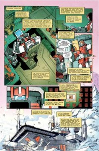 Transformers News: Transformers: More Than Meets The Eye #4 Creator Commentary.