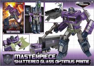 Transformers News: Masterpiece Shattered Glass Optimus Prime Confirmed Pre-Order Up