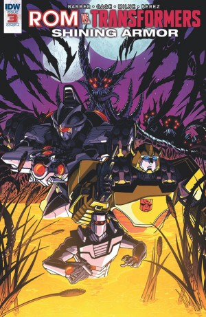Rom Vs. Transformers: Shining Armor #3 iTunes Preview
