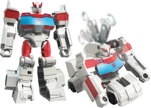 Video Reviews for Scout Ratchet and Shadow Striker and One Step Wheeljack and Hot Rod from Cybervers