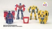 Commercial for Japanese McDonalds Transformers Happy Meal Toys