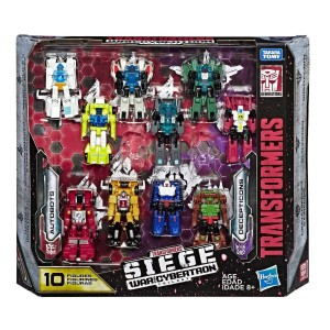 Transformers News: Transformers War for Cybertron Siege Micromaster 10 pack Video Review