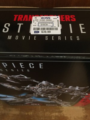 Steal of a Deal: Movie Masterpiece Megatron and Ironhide Found Heavily Discounted at Ross
