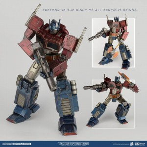New Images of Hasbro 3A Transformers Generation 1 Optimus Prime Statue