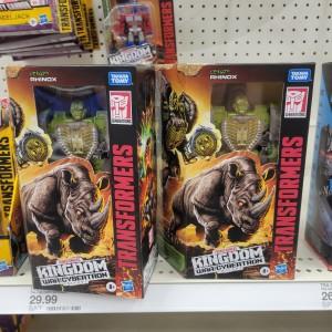 Transformers Kingdom Rhinox Found in the US at Target