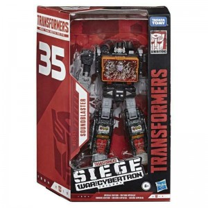 Transformers News: Video Review for Transformers Siege 35th Anniversary Soundblaster